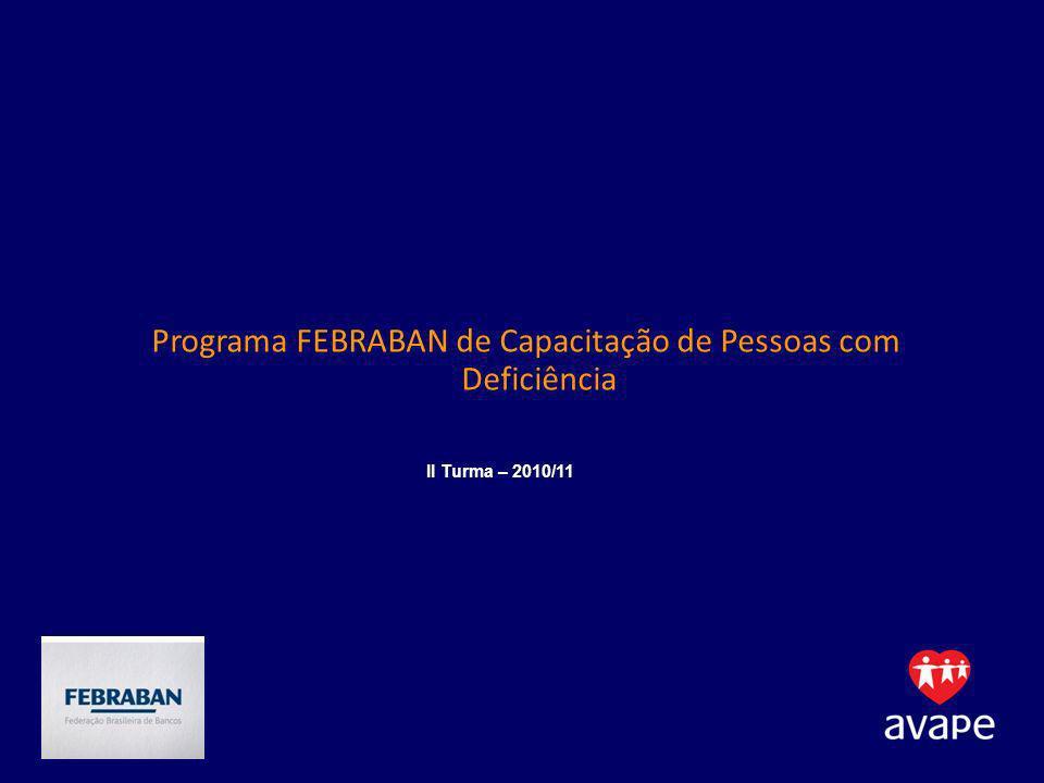Programa FEBRABAN de Capacitação de Pessoas com Deficiência