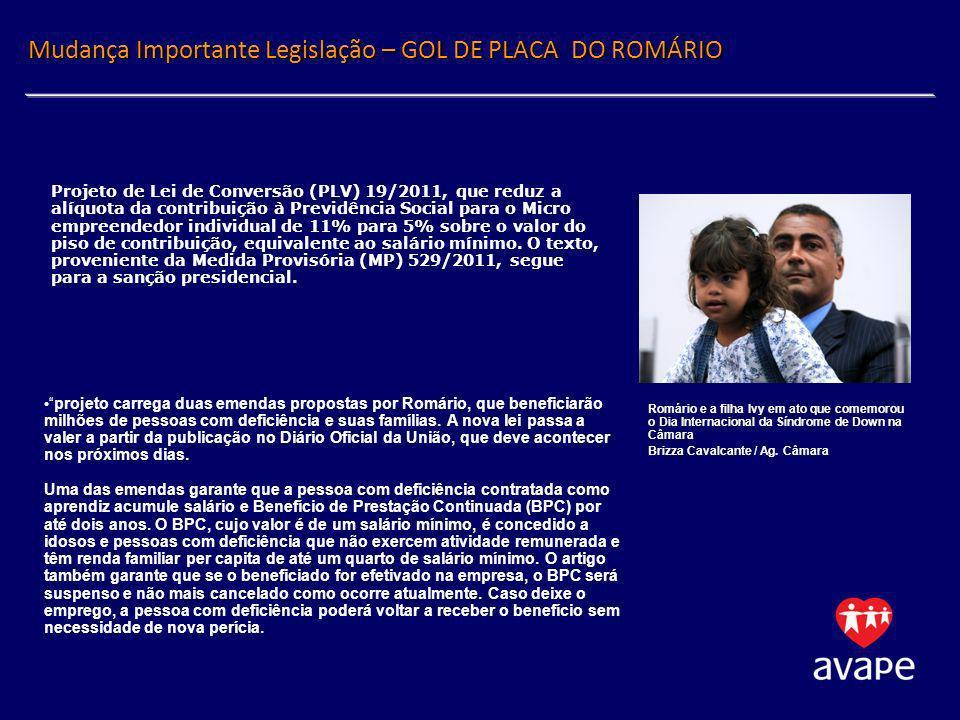Mudança Importante Legislação – GOL DE PLACA DO ROMÁRIO
