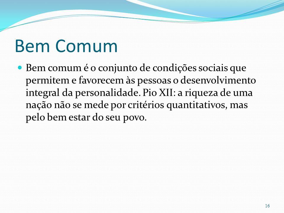 Bem Comum