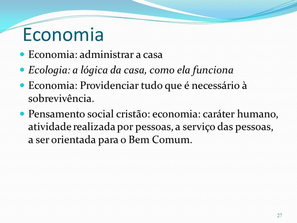 Economia Economia: administrar a casa