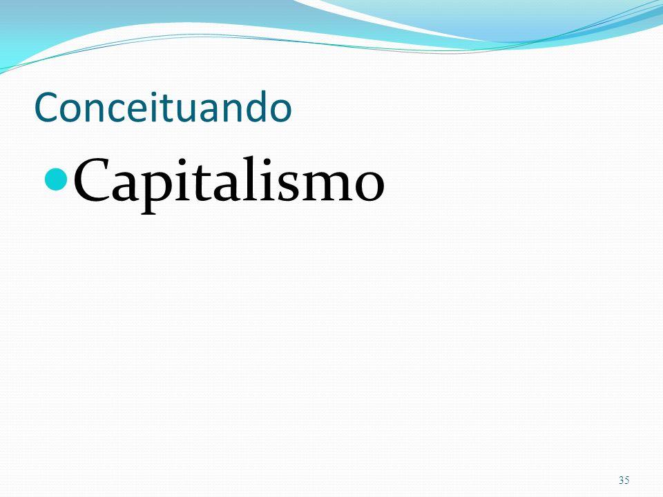 Conceituando Capitalismo