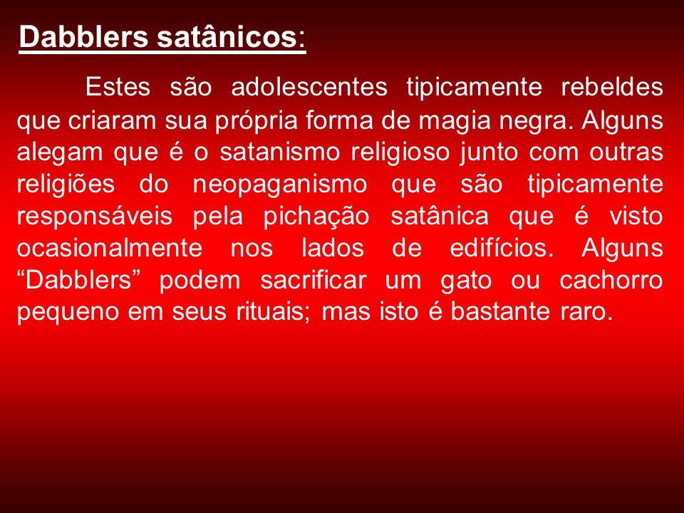 Dabblers satânicos: