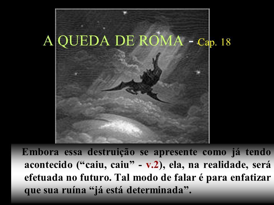 A QUEDA DE ROMA - Cap. 18