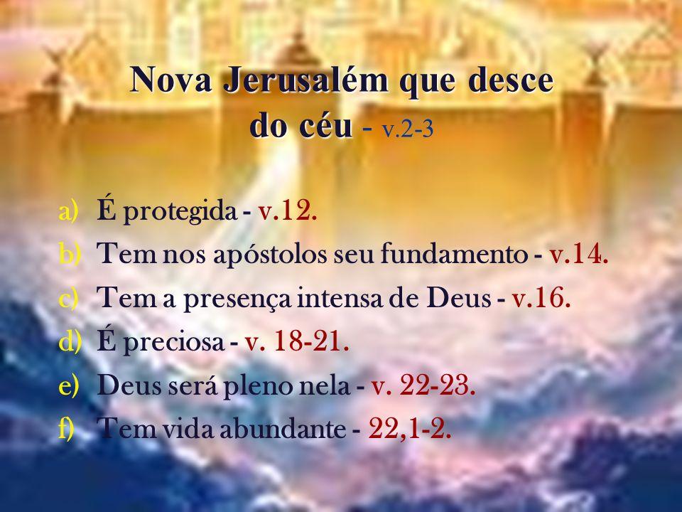Nova Jerusalém que desce do céu - v.2-3