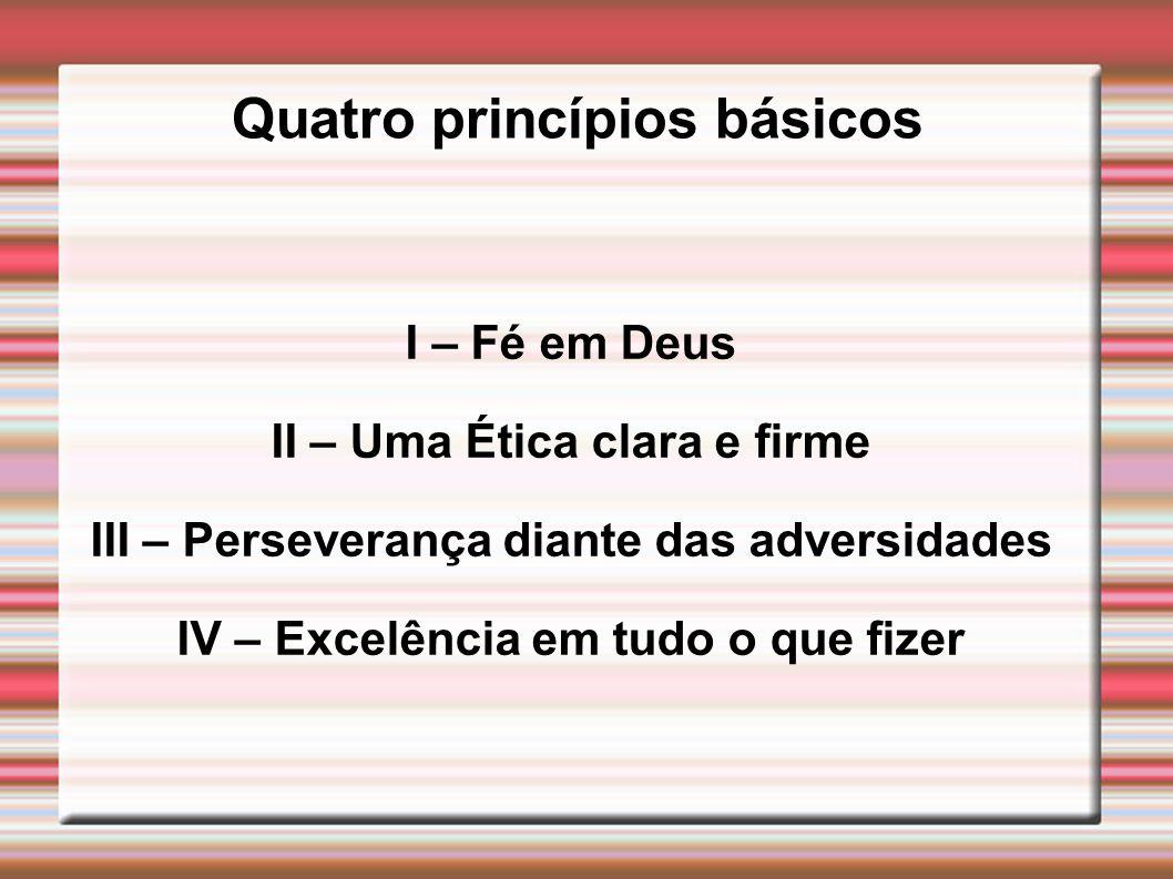 Quatro princípios básicos