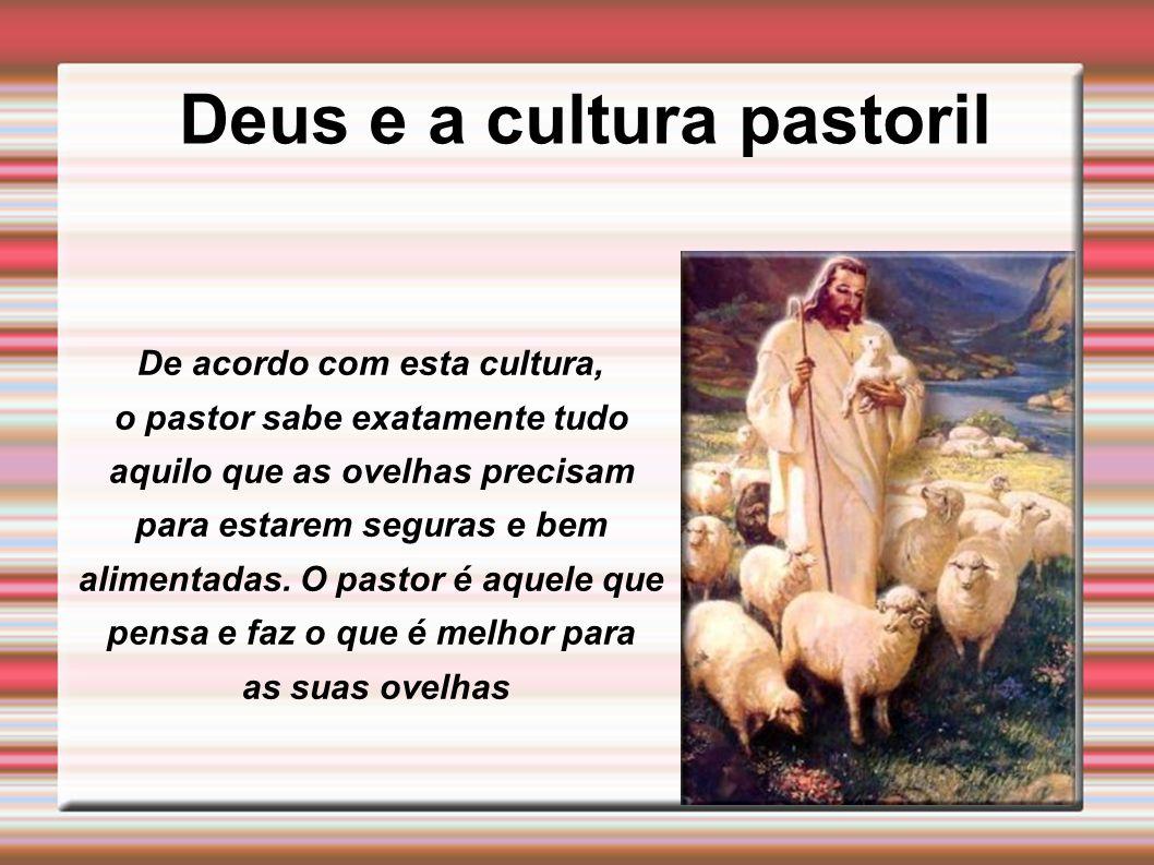 Deus e a cultura pastoril