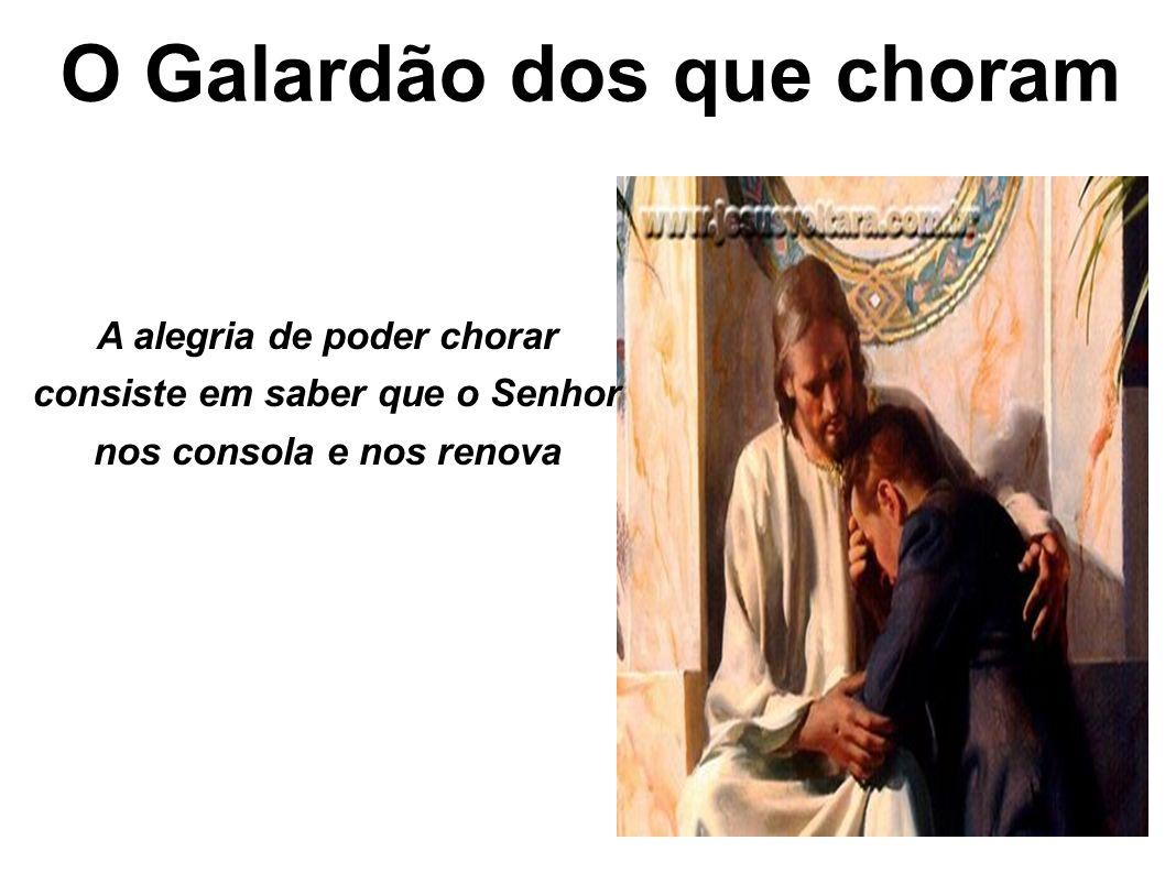 O Galardão dos que choram