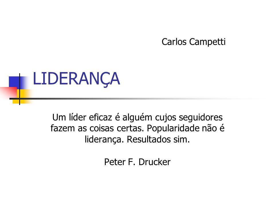 LIDERANÇA Carlos Campetti