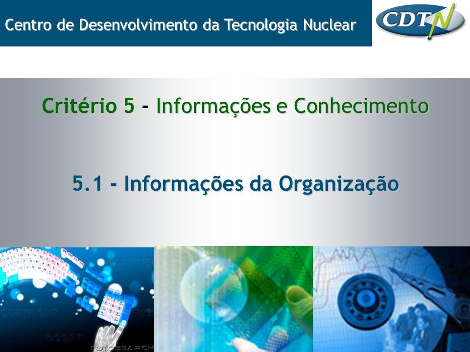5.1 - Informações da Organização