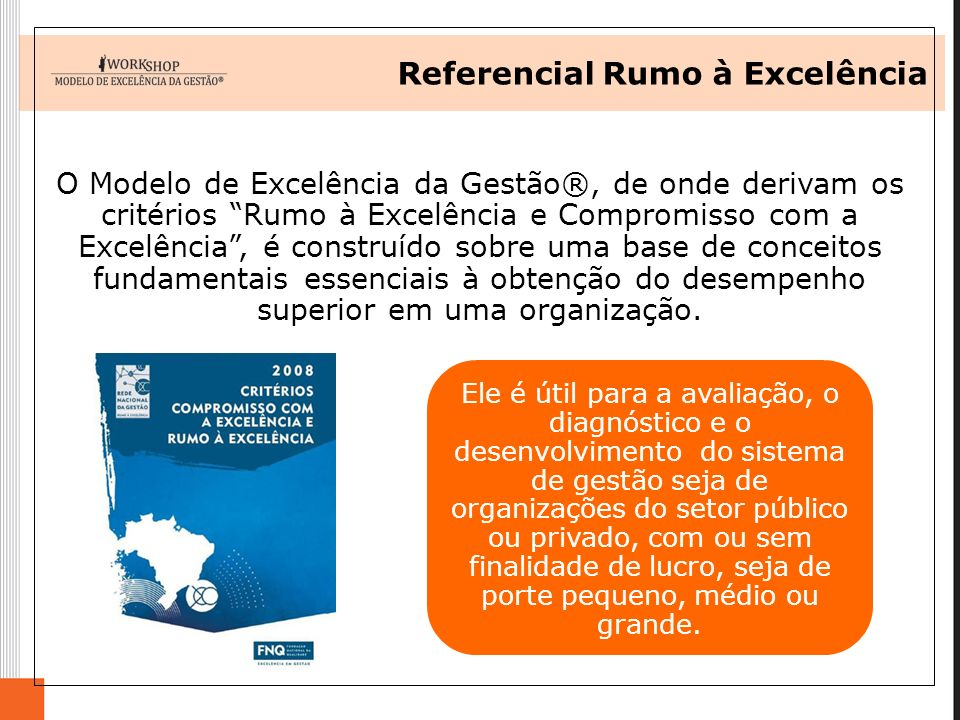 Referencial Rumo à Excelência