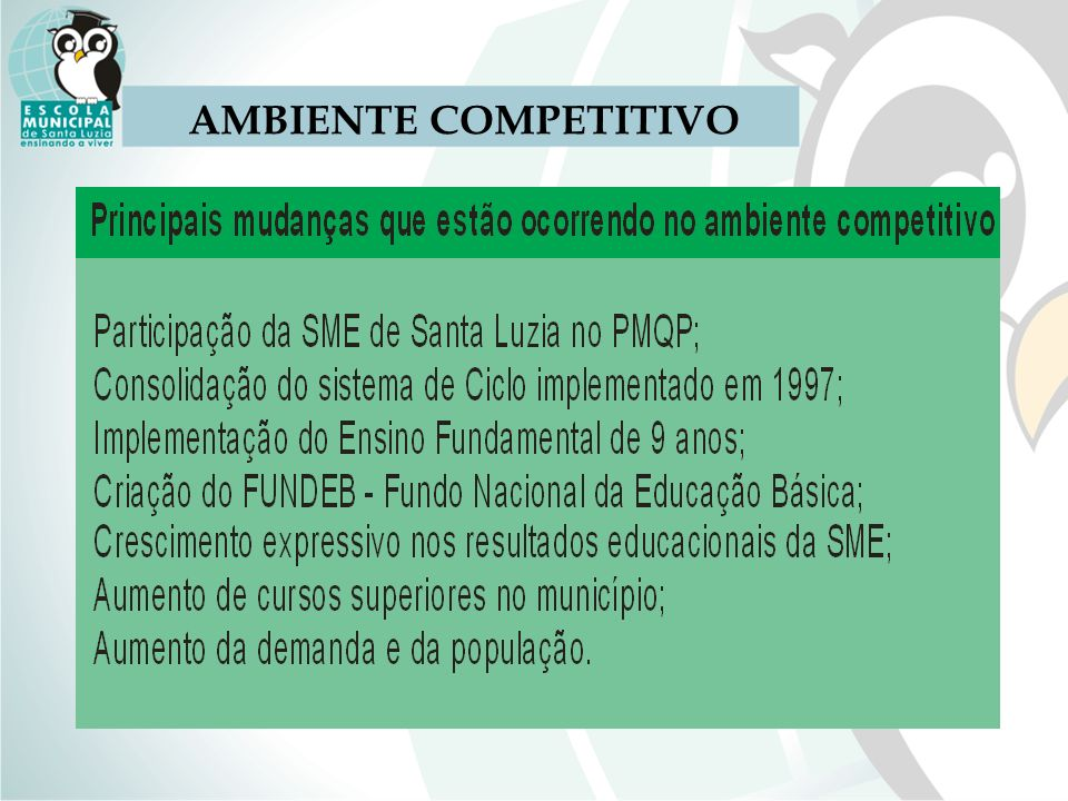 AMBIENTE COMPETITIVO