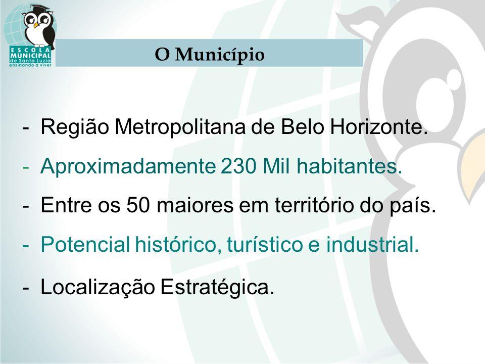 Região Metropolitana de Belo Horizonte.