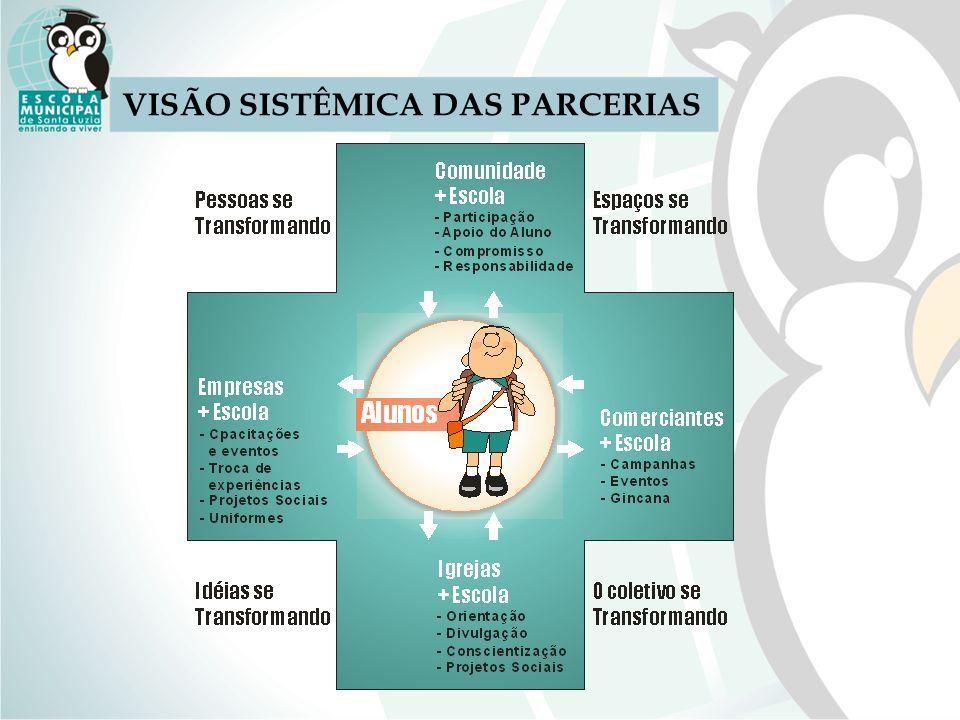 VISÃO SISTÊMICA DAS PARCERIAS