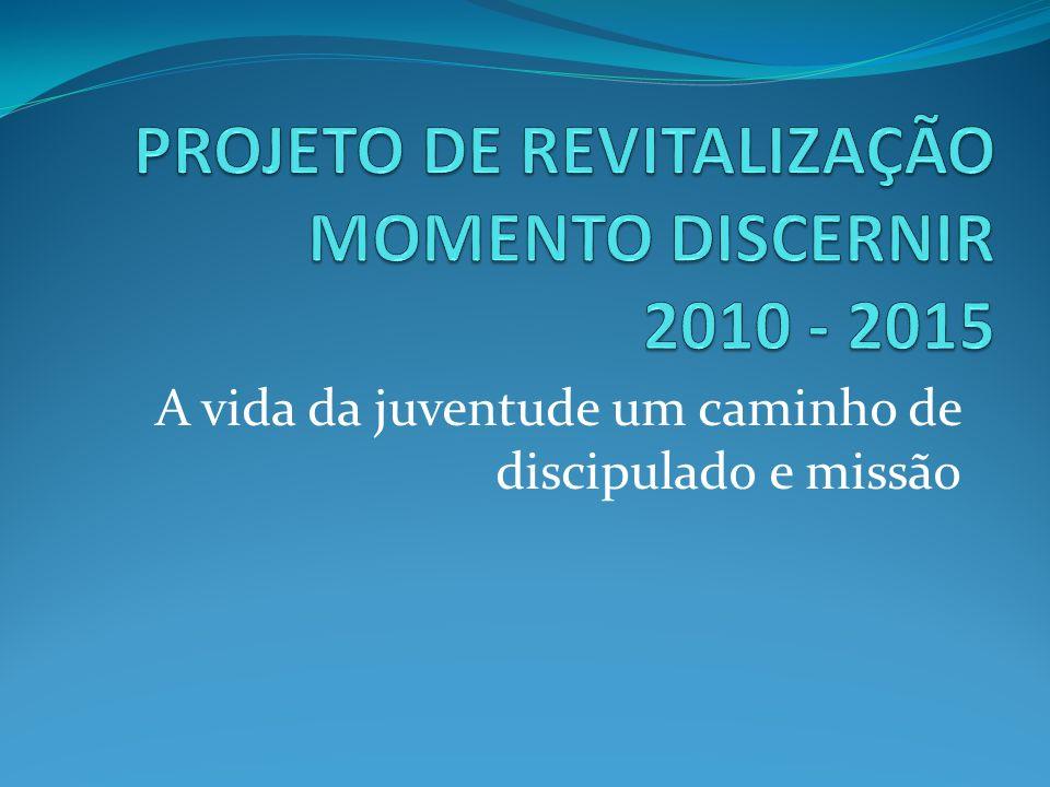 PROJETO DE REVITALIZAÇÃO MOMENTO DISCERNIR 2010 - 2015