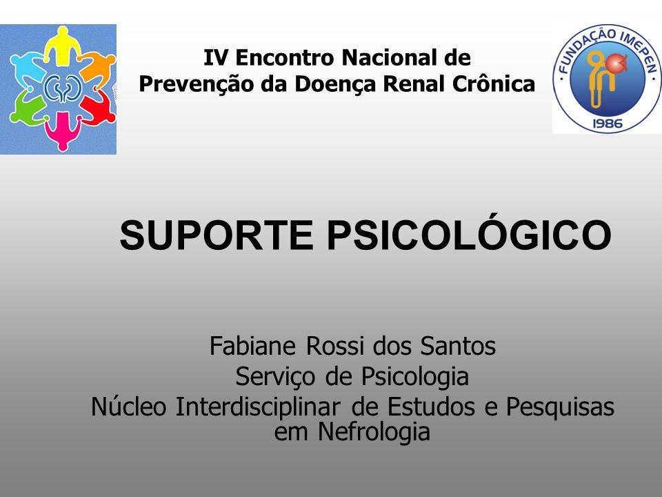IV Encontro Nacional de Prevenção da Doença Renal Crônica