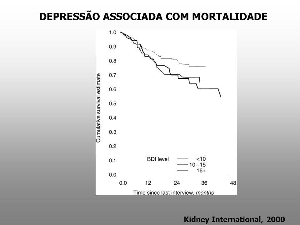 DEPRESSÃO ASSOCIADA COM MORTALIDADE
