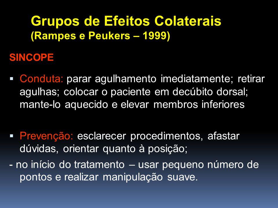 Grupos de Efeitos Colaterais (Rampes e Peukers – 1999)