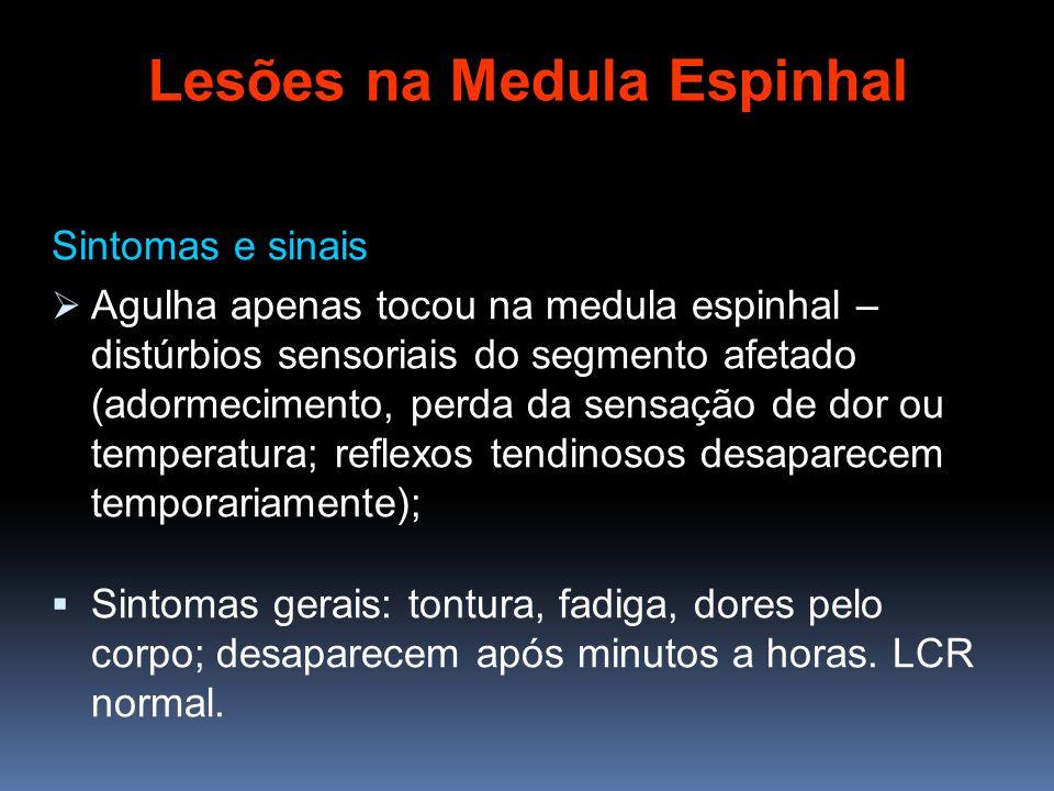 Lesões na Medula Espinhal