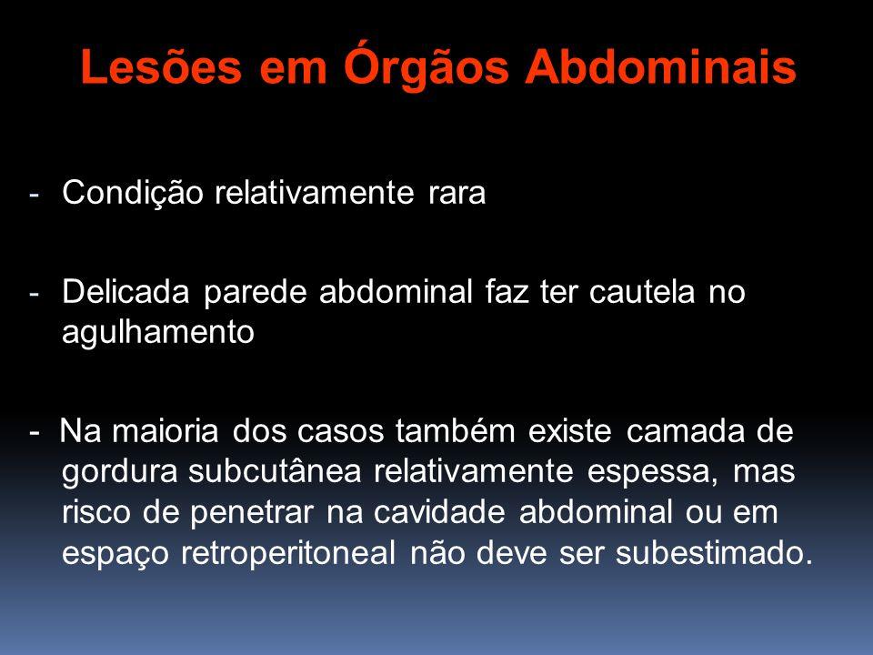 Lesões em Órgãos Abdominais