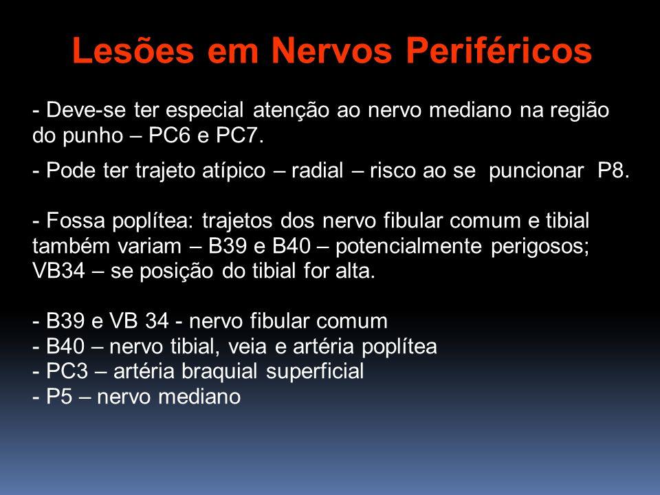 Lesões em Nervos Periféricos