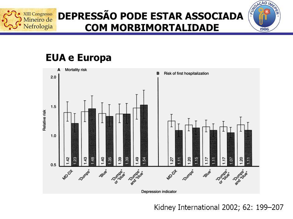 DEPRESSÃO PODE ESTAR ASSOCIADA