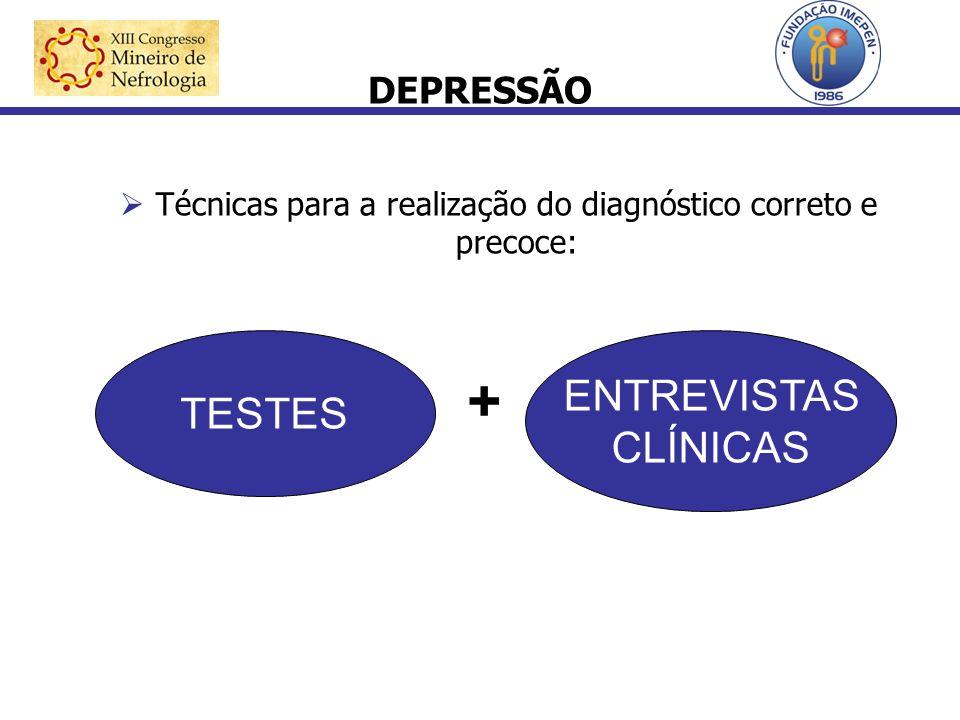 Técnicas para a realização do diagnóstico correto e precoce: