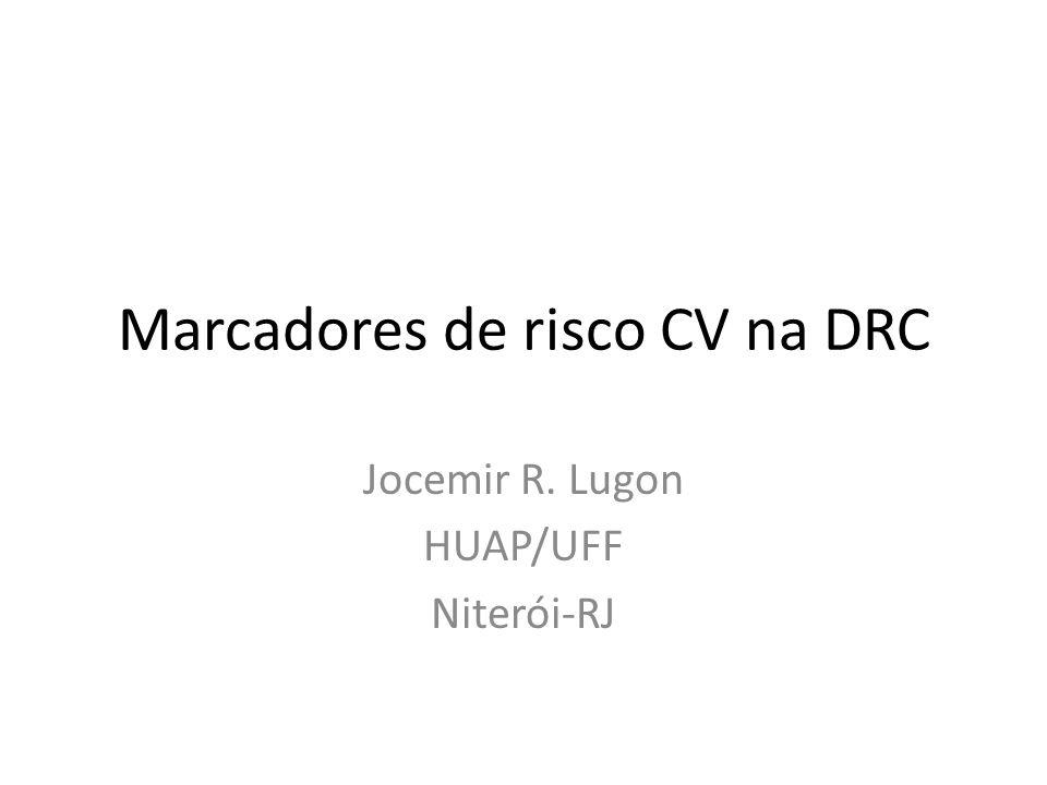 Marcadores de risco CV na DRC