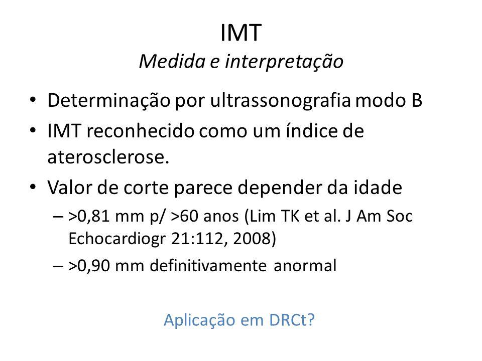 IMT Medida e interpretação