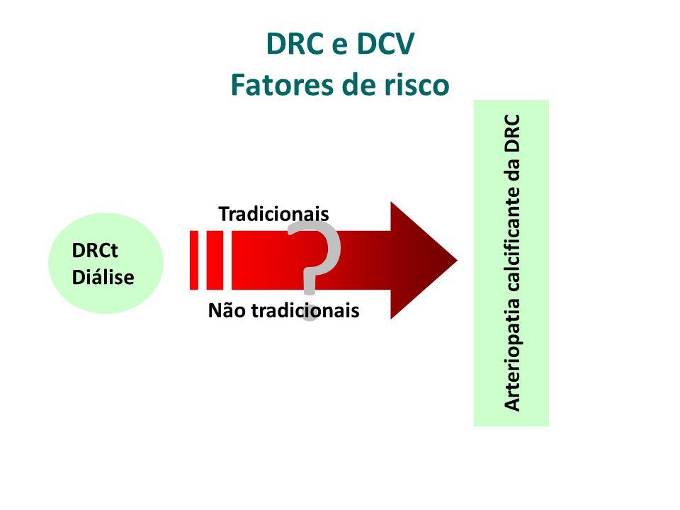 DRC e DCV Fatores de risco