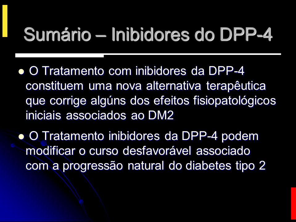 Sumário – Inibidores do DPP-4