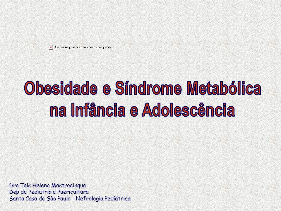 Obesidade e Síndrome Metabólica na Infância e Adolescência