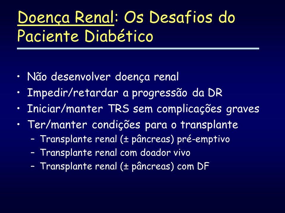 Doença Renal: Os Desafios do Paciente Diabético
