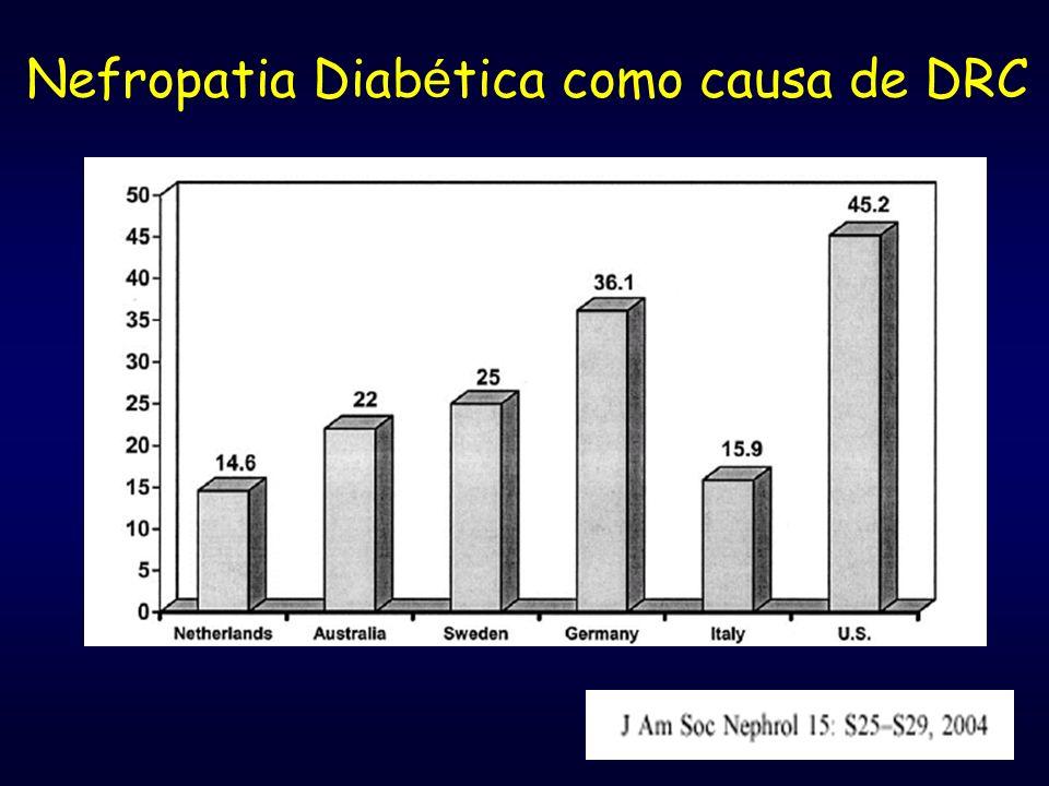 Nefropatia Diabética como causa de DRC