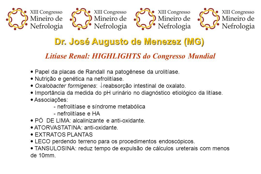 Dr. José Augusto de Menezez (MG)