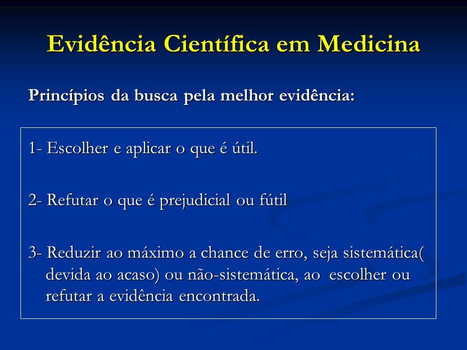 Evidência Científica em Medicina