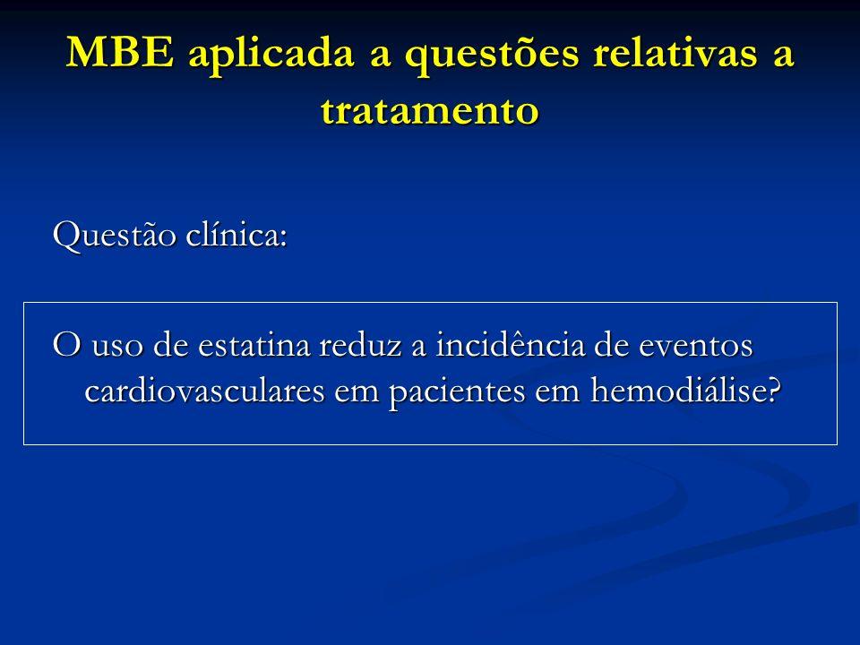 MBE aplicada a questões relativas a tratamento