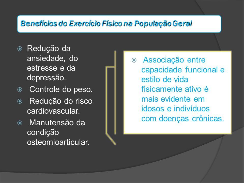 Benefícios do Exercício Físico na População Geral