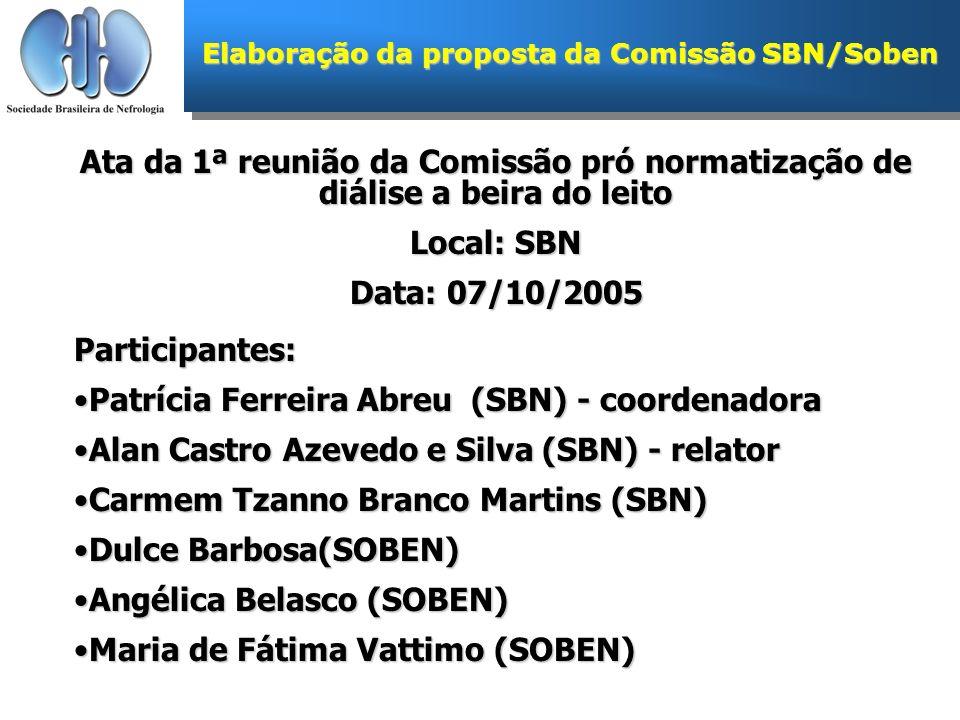 Patrícia Ferreira Abreu (SBN) - coordenadora