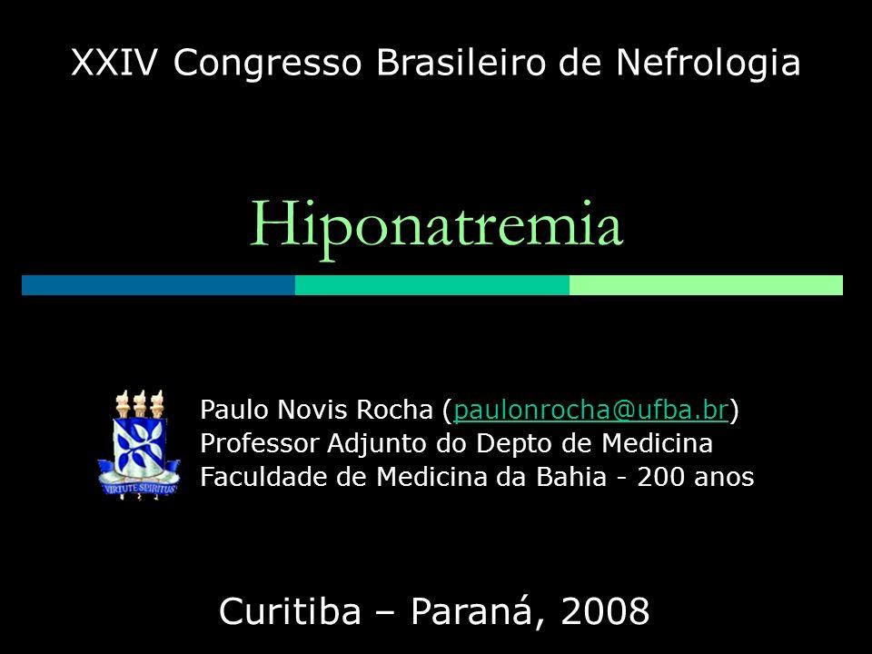 XXIV Congresso Brasileiro de Nefrologia