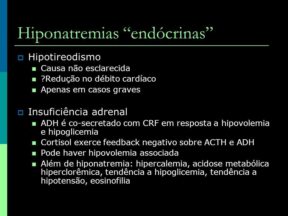 Hiponatremias endócrinas