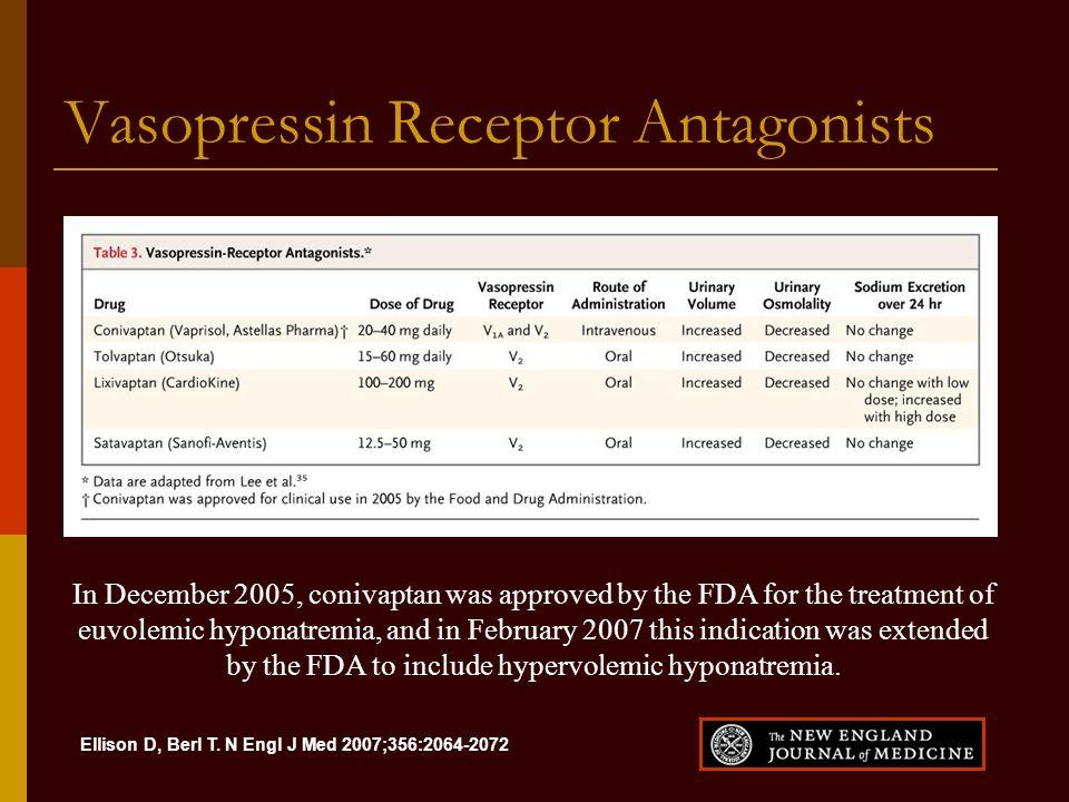 Vasopressin Receptor Antagonists
