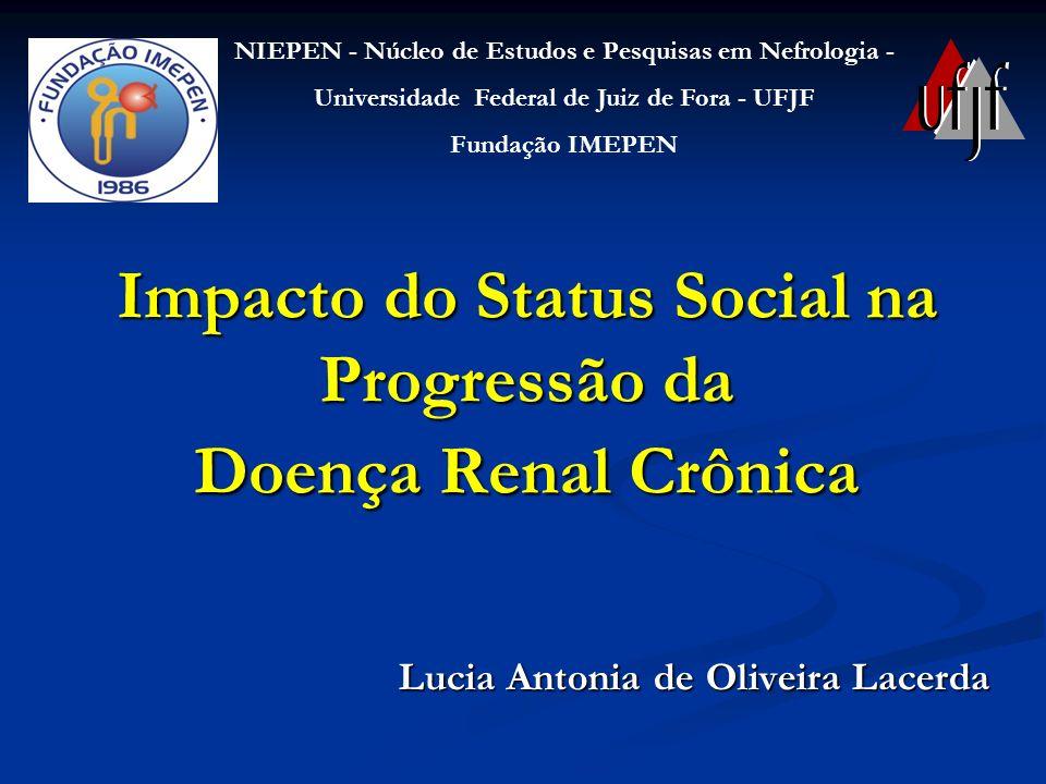 Impacto do Status Social na Progressão da Doença Renal Crônica