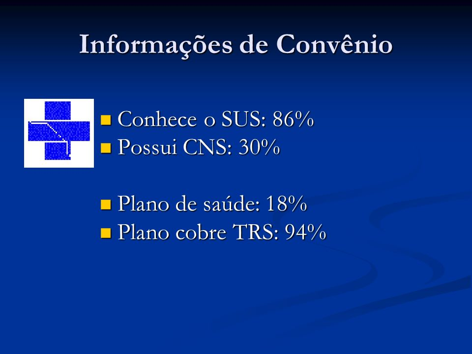 Informações de Convênio
