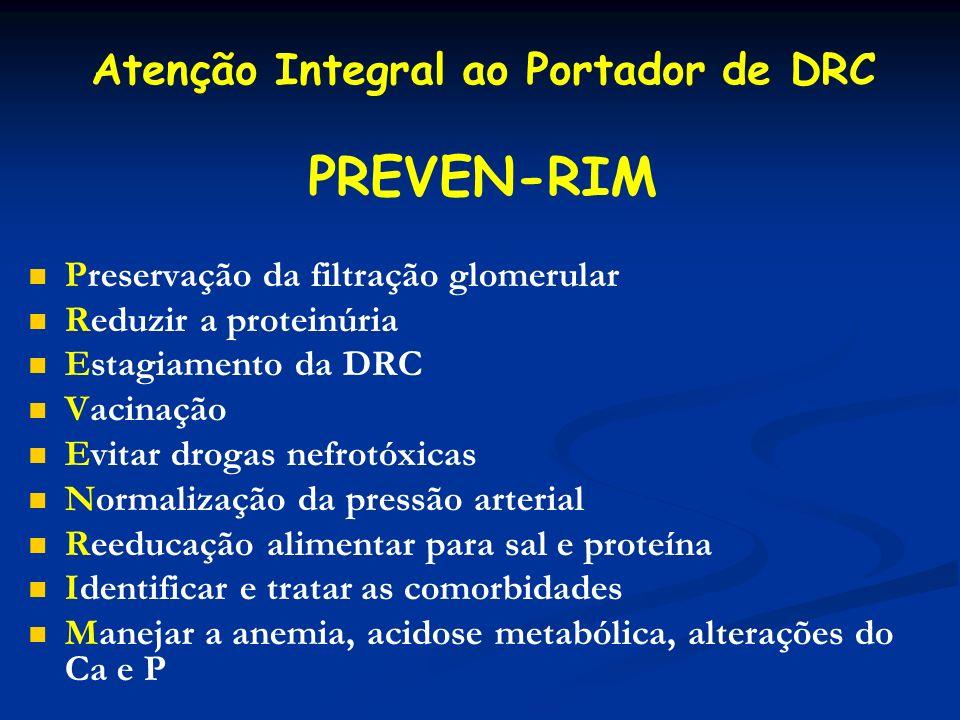 Atenção Integral ao Portador de DRC