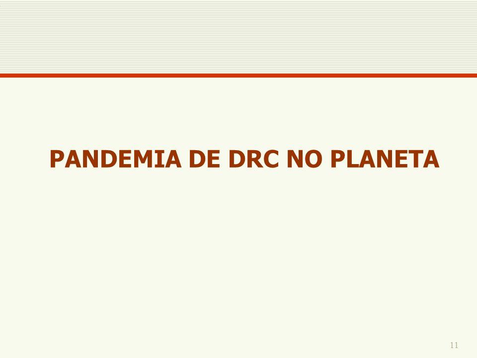 PANDEMIA DE DRC NO PLANETA