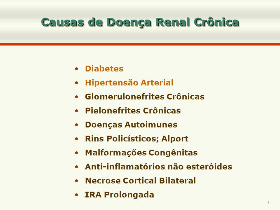 Causas de Doença Renal Crônica