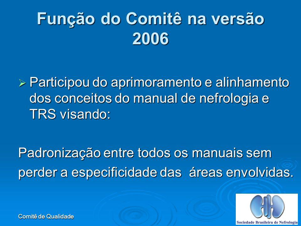 Função do Comitê na versão 2006