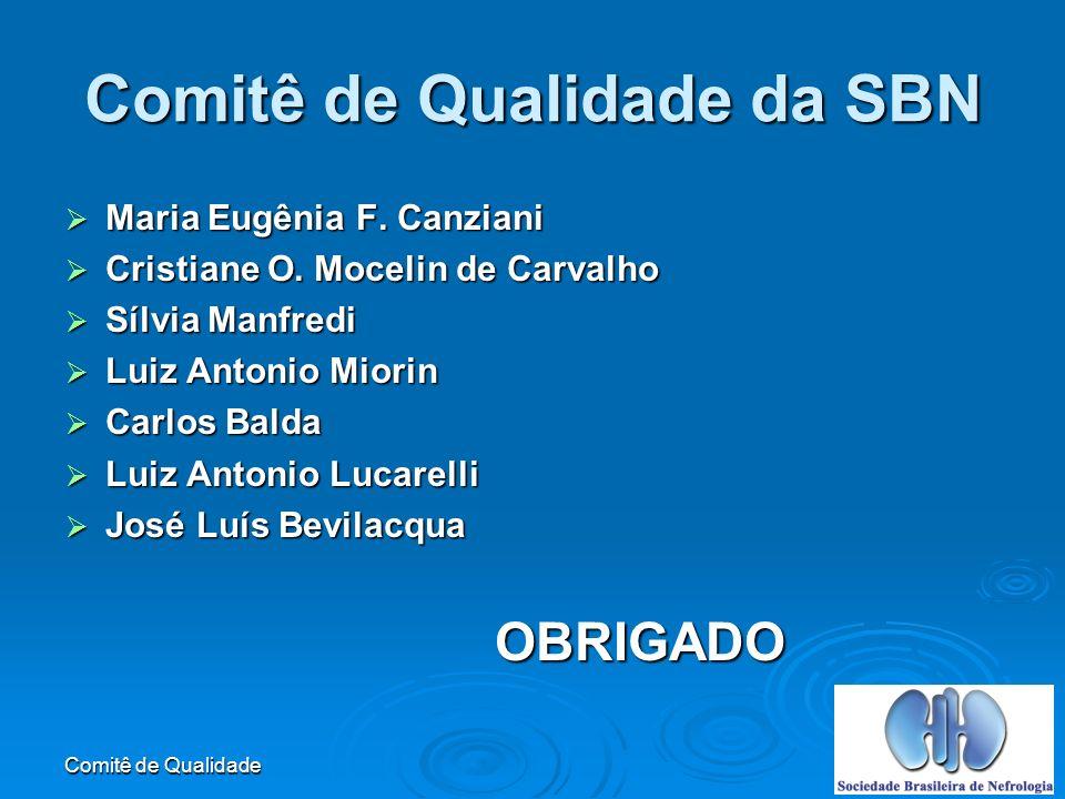 Comitê de Qualidade da SBN