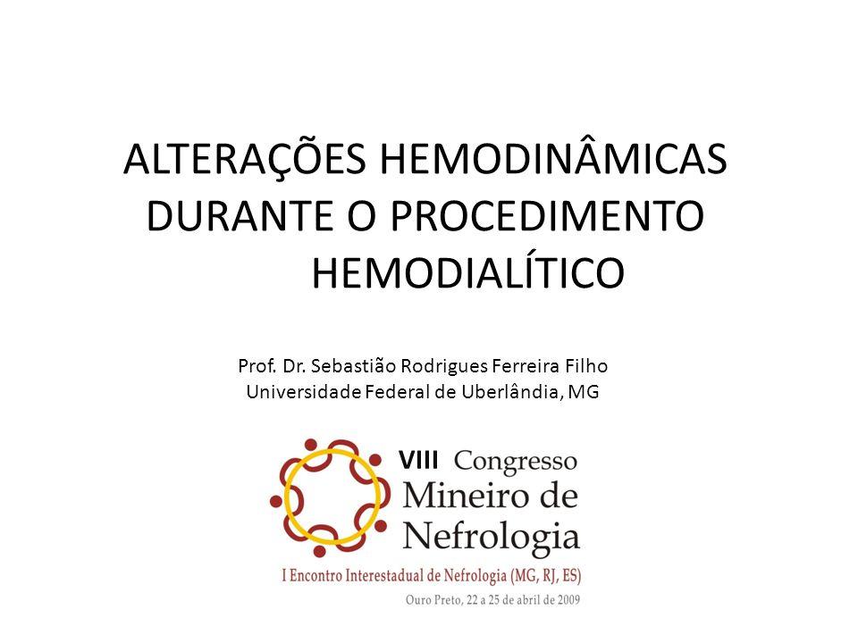 ALTERAÇÕES HEMODINÂMICAS DURANTE O PROCEDIMENTO HEMODIALÍTICO