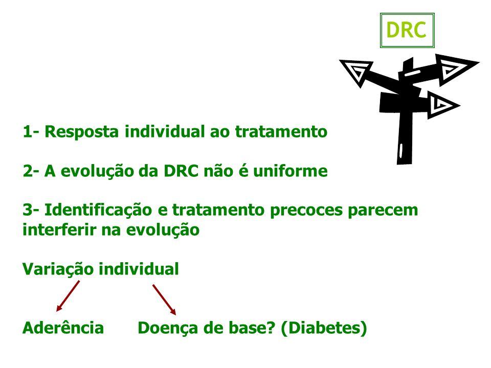 DRC 1- Resposta individual ao tratamento